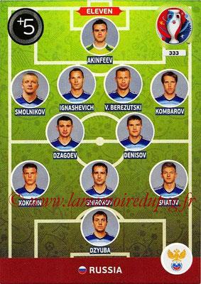 Panini Euro 2016 Cards - N° 333 - Équipe Type de Russie