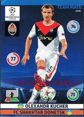 2014-15 - Adrenalyn XL champions League Update edition N° UE082 - Olexandr KUCHER (FC Shakhtar Donetsk)