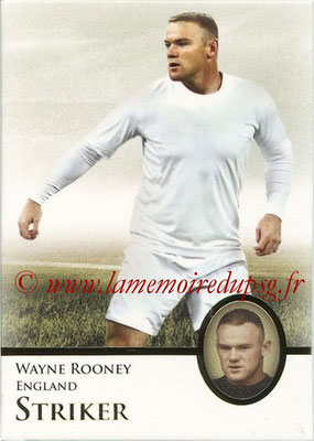 2013 - Futera World Football Unique - N° 129 - Wayne ROONEY (Angleterre) (Striker) (Master)