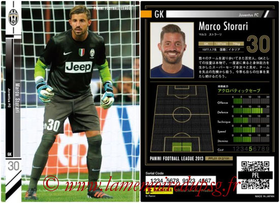 Panini Football League 2013 - PFL01 - N° 012 - Marco Storari ( Juventus FC )