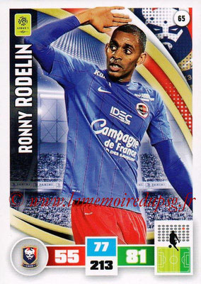 2016-17 - Panini Adrenalyn XL Ligue 1 - N° 065 - Ronny RODELIN (Caen)