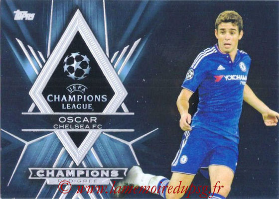 2015-16 - Topps UEFA Champions League Showcase Soccer - N° CP-O - OSCAR (Chelsea FC) (Champions Pedigree)