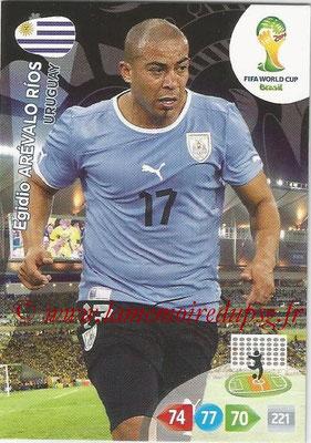 2014 - Panini FIFA World Cup Brazil Adrenalyn XL - N° 310 - Egidio AREVALO RIOS (Uruguay)