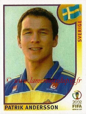 2002 - Panini FIFA World Cup Stickers - N° 443 - Patrik ANDERSSON (Suede)