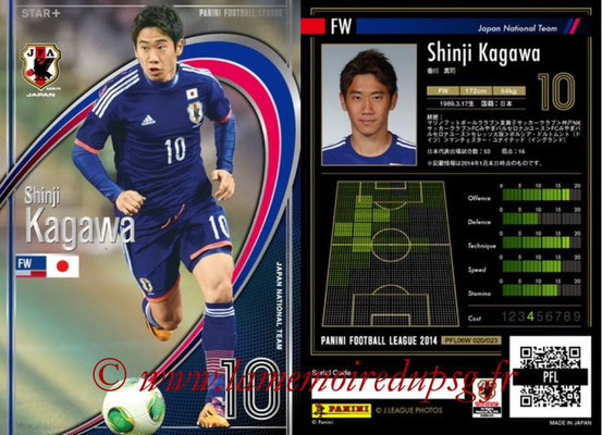 Panini Football League 2014 - PFL06W - N° 020 - Shinji KAGAWA (Japon) (Star +)