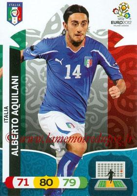 Panini Euro 2012 Cards Adrenalyn XL - N° 123 - Alberto AQUILANI (Italie)