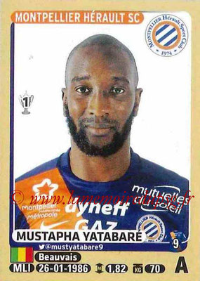 2015-16 - Panini Ligue 1 Stickers - N° 287 - Mustapha YATABARE (Montpellier Hérault SC)