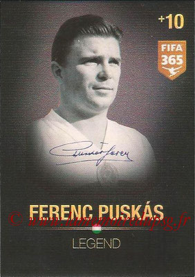 2015-16 - Panini Adrenalyn XL FIFA 365 - N° 374 - Ferenc PUSKAS (Hongrie) (Legend)
