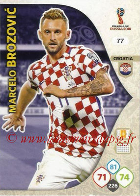 2018 - Panini FIFA World Cup Russia Adrenalyn XL - N° 077 - Marcelo BROZOVIC (Croatie)