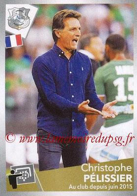 2017-18 - Panini Ligue 1 Stickers - N° 022 - Christophe PELISSIER (Entraîneur Amiens)