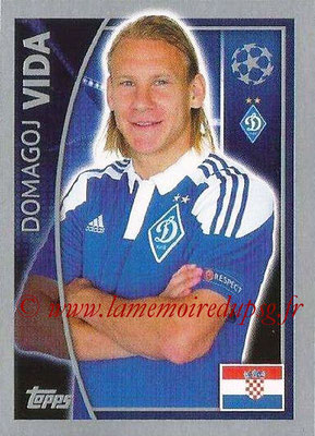 2015-16 - Topps UEFA Champions League Stickers - N° 482 - Domagoj VIDA (FC Dynamo Kiev)