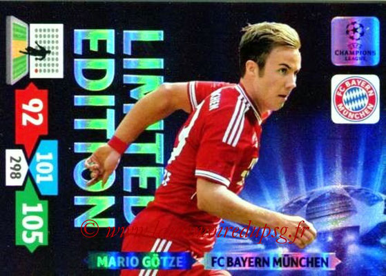 2013-14 - Adrenalyn XL champions League N° LE17 - Mario GÖTZE (FC Bayern Munich) (Limited Edition)