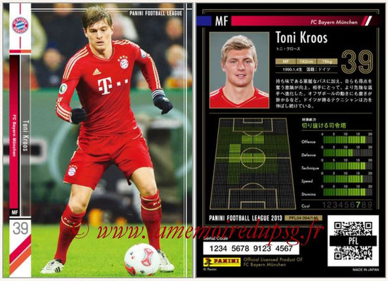 Panini Football League 2013 - PFL04 - N° 094 - Toni KROOS (Bayern Munich)