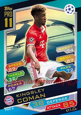 2016-17 - Topps UEFA Champions League Match Attax - N° PRO9 - Kingsley COMAN (FC Bayern Munich) (Pro 11)