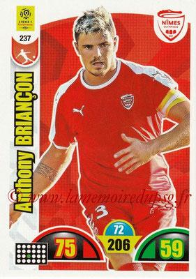 2018-19 - Panini Adrenalyn XL Ligue 1 - N° 237 - Anthony BRIANCON (Nîmes)