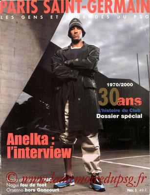 2000-08-xx - Les gens et légendes du PSG (Edition PSG, 98 pages)