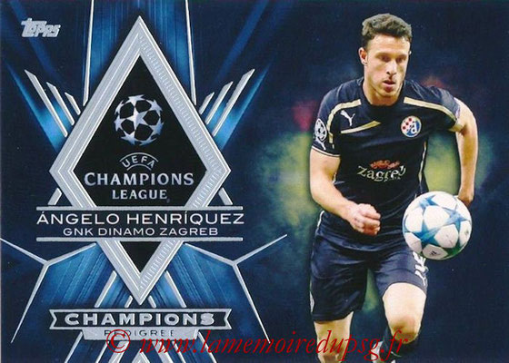 2015-16 - Topps UEFA Champions League Showcase Soccer - N° CP-AH - Angelo HENRIQUEZ (GNK Dinamo Zagreb) (Champions Pedigree)