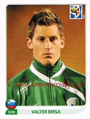 2010 - Panini FIFA World Cup South Africa Stickers - N° 255 - Valter BIRSA (Slovenie)