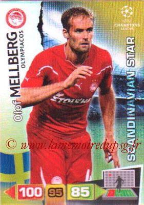 2011-12 - Panini Champions League Cards - N° 360 - Olof MELLBERG (Olympiacos) (Scandinavian Star)