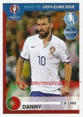 Panini Road to Euro 2016 Stickers - N° 237 - DANNY (Portugal)