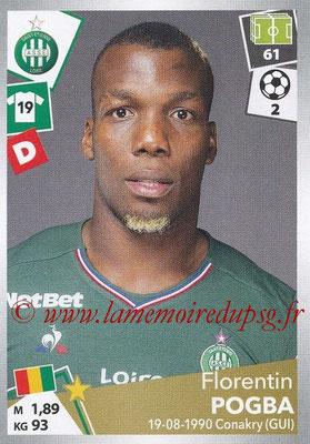 2017-18 - Panini Ligue 1 Stickers - N° 422 - Florientin POGBA (Saint-Etienne)