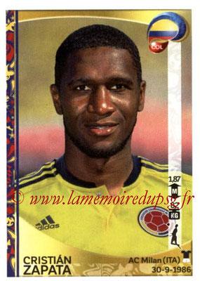 Panini Copa America Centenario USA 2016 Stickers - N° 043 - Cristian ZAPATA (Colombie)