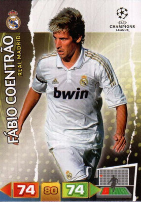 2011-12 - Panini Champions League Cards - N° 225 - Fabio COENTRAO (Real Madrid CF)