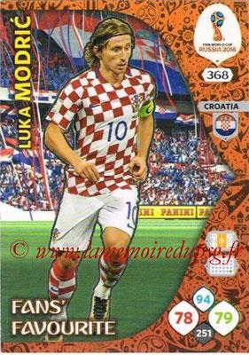 2018 - Panini FIFA World Cup Russia Adrenalyn XL - N° 368 - Luka MODRIC (Croatie) (Fans' Favourite)