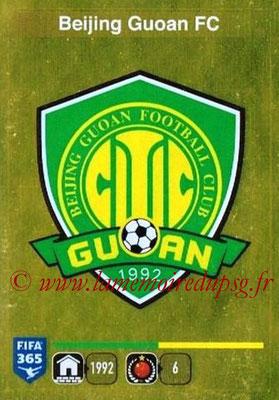 2015-16 - Panini FIFA 365 Stickers - N° 251- Ecusson Beijing Guoan FC