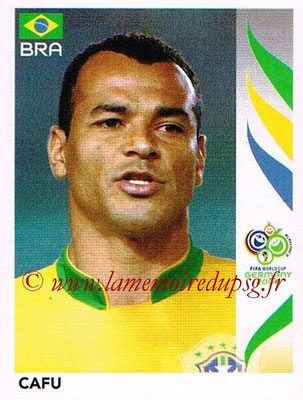 2006 - Panini FIFA World Cup Germany Stickers - N° 381 - CAFU (Brésil)