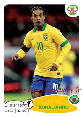 N° 014 - RONALDHINO (2001-03, PSG > 2014, Brésil)