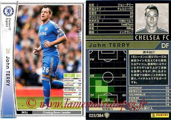 2012-13 - WCCF - N° 023 - John TERRY (Chelsea FC)