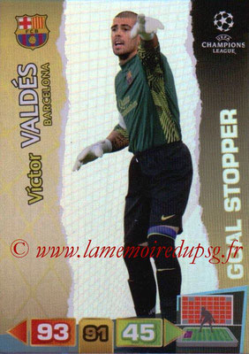 2011-12 - Panini Champions League Cards - N° 278 - Victor VALDES (FC Barcelone) (Goal Stopper)