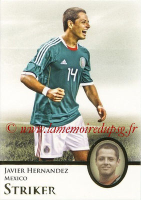 2013 - Futera World Football Unique - N° 078 - Javier HERNANDEZ (Mexique) (Striker)