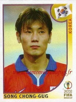 2002 - Panini FIFA World Cup Stickers - N° 248 - Song CHONG-GUC (Corée)