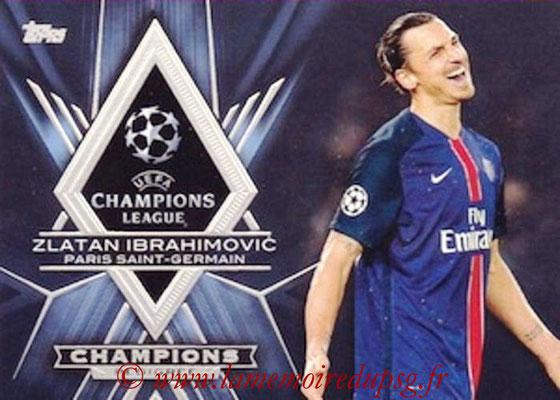 2015-16 - Topps UEFA Champions League Showcase Soccer - N° CP-ZI - Zlatan IBRAHIMOVIC (Paris Saint-Germain) (Champions Pedigree)