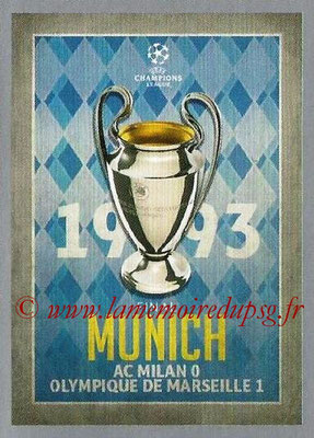 2015-16 - Topps UEFA Champions League Stickers - N° 585 - UEFA Champions League Final 1992-93