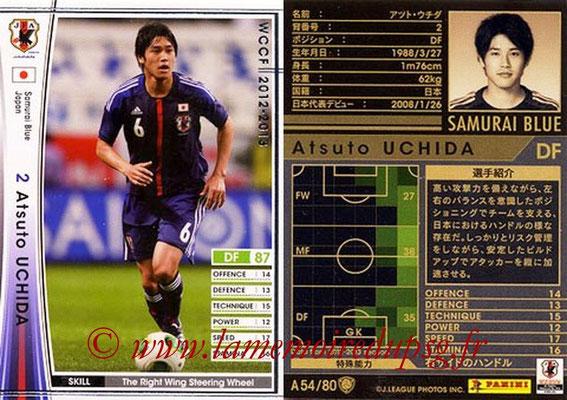2012-13 - WCCF - N° A54 - Atsuto UCHIDA (Japon)