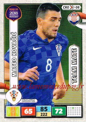 2018 - Panini Road to FIFA World Cup Russia Adrenalyn XL - N° CRO08 - Mateo KOVACEVIC (Croatie)