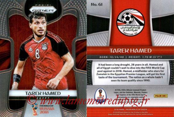 2018 - Panini Prizm FIFA World Cup Russia - N° 061 - Tarek HAMED (Egypte)