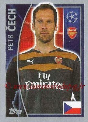 2015-16 - Topps UEFA Champions League Stickers - N° 393 - Petr CECH (Arsenal FC)