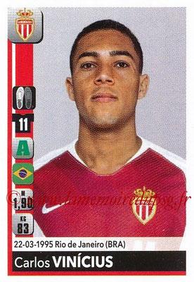 2018-19 - Panini Ligue 1 Stickers - N° T23 - Carlos VINICIUS (Monaco) (Transfert)