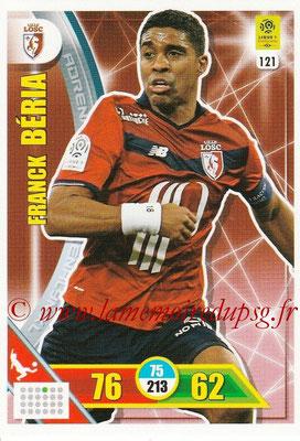 2017-18 - Panini Adrenalyn XL Ligue 1 - N° 121 - Franck BERIA (Lille)