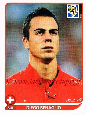 2010 - Panini FIFA World Cup South Africa Stickers - N° 583 - Diego BENAGLIO (Suisse)