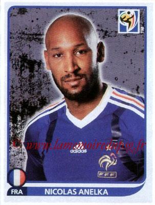 N° 102 - Nicolas ANELKA (1995-97 et 2000-Janv 02, PSG > 2010, France)