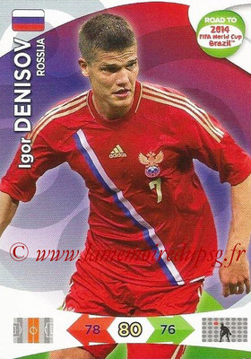 2014 - Panini Road to FIFA World Cup Brazil Adrenalyn XL - N° 162 - Igor DENISOV (Russie)