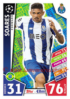 2017-18 - Topps UEFA Champions League Match Attax - N° SS13 - SOARES (FC Porto) (Super Strikers)