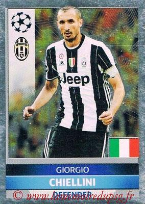 2016-17 - Topps UEFA Champions League Stickers - N° JUV 3 - Giorgio CHIELLINI (Juventus FC)