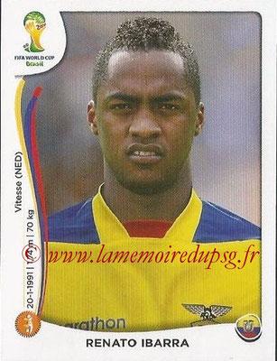 2014 - Panini FIFA World Cup Brazil Stickers - N° 370 - Renato IBARRA (Equateur)