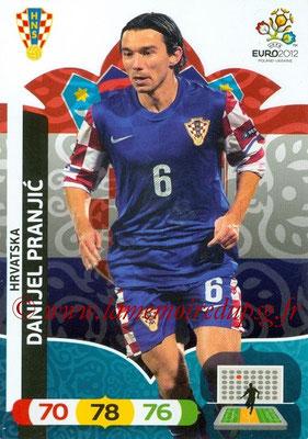 Panini Euro 2012 Cards Adrenalyn XL - N° 110 - Danijel PRANJIC (Croatie)